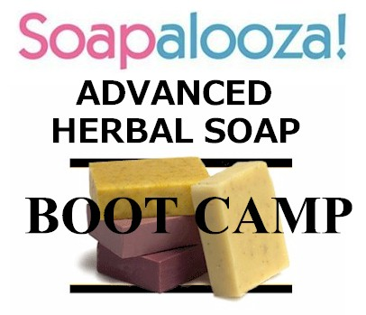 2 Day Advanced Herbal Soap Camp