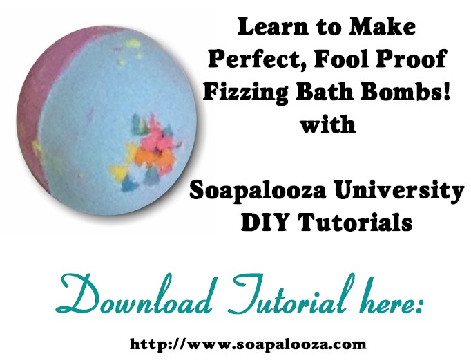 Bombs Away Bath Bomb Tutorial