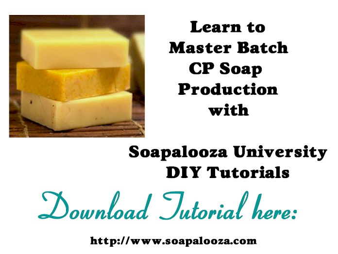 Master Batch Soap Making Techniques